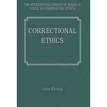 Correctional Ethics by John Kleinig, 9780754624318
