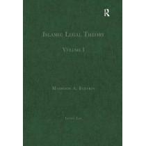 Islamic Legal Theory: Volume I by Professor Mashood A. Baderin, 9780754628781