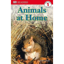 DK Readers L1: Animals at Home by David Lock, 9780756631383