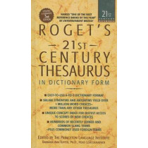Roget's 21st Century Thesaurus by Barbara Ann Kipfer, 9780756958596