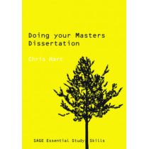 Doing Your Masters Dissertation by Christopher Hart, 9780761942177