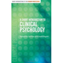 A Short Introduction to Clinical Psychology by Katherine Cheshire, 9780761947684