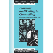 Learning and Writing in Counselling by Mhairi MacMillan, 9780761950639