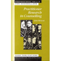 Practitioner Research in Counselling by John McLeod, 9780761957638