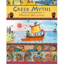 Greek Myths by Marcia Williams, 9780763653842