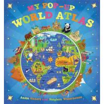 My Pop-Up World Atlas by Anita Ganeri, 9780763660949