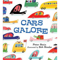 Cars Galore by Peter Stein, 9780763661489