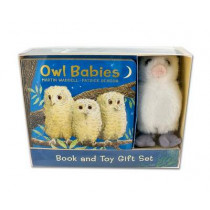 Owl Babies Book and Toy Gift Set by Martin Waddell, 9780763688981