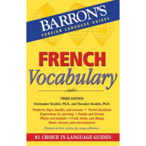 French Vocabulary by Christopher Kendris, 9780764147708