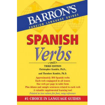 Spanish Verbs by Christopher Kendris, 9780764147760