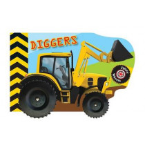 Zippy Wheels: Diggers by Small World Creations, 9780764168253