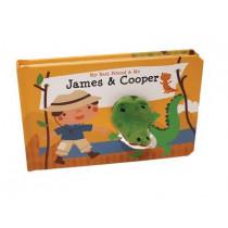 James & Cooper Finger Puppet Book by Mariska Vermeulen, 9780764168307