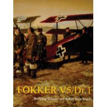 Fokker V5/DR.1 by Wolfgang Schuster, 9780764304002