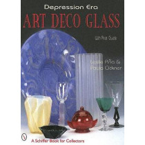 Depression Era Art Deco Glass by Leslie Pina, 9780764307188
