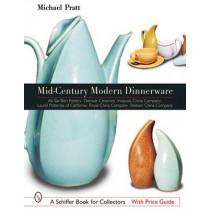 Mid-Century Modern Dinnerware by Michael Pratt, 9780764315671
