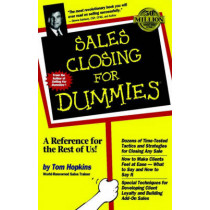 Sales Closing For Dummies by Tom Hopkins, 9780764550638