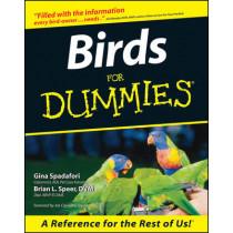 Birds For Dummies by Gina Spadafori, 9780764551390