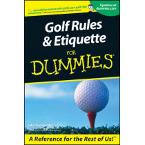 Golf Rules and Etiquette For Dummies by John Steinbreder, 9780764553332