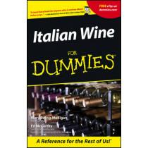 Italian Wine For Dummies by Mary Ewing-Mulligan, 9780764553554