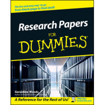 Research Papers For Dummies by Geraldine Woods, 9780764554261