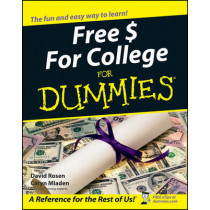 Free $ For College For Dummies by David Rosen, 9780764554674