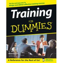 Training For Dummies by Elaine Biech, 9780764559853