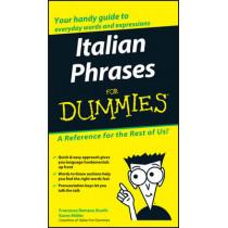 Italian Phrases For Dummies by Francesca Romana Onofri, 9780764572036