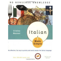 Italian Made Simple: Revised and Updated by Cristina Mazzoni, 9780767915397