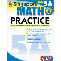 Math Practice, Grade 6: Reviewed and Recommended by Teachers and Parents by Frank Schaffer Publications, 9780768239959