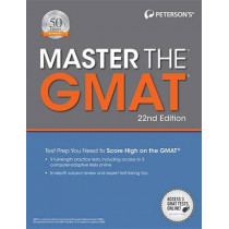Master the GMAT by Peterson's, 9780768939668