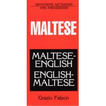 Maltese-English, English-Maltese Dictionary and Phrasebook, 9780781805650