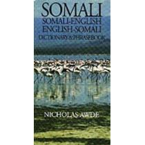 Somali-English / English-Somali Dictionary & Phrasebook by Nicholas Awde, 9780781806213