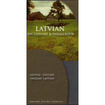 Latvian-English / English-Latvian Dictionary & Phrasebook by Amanda Zaeska Jatniece, 9780781810081