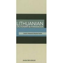Lithuanian-English / English-Lithuanian Dictionary & Phrasebook by Jurgita Baltrusaityte, 9780781810098