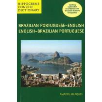 Brazilian Portuguese-English / English-Brazilian Portuguese Concise Dictionary by Amadeu Marques, 9780781812399