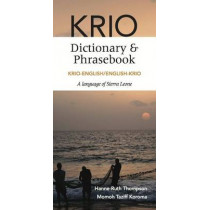 Krio-English/English Krio Dictionary & Phrasebook by Hanne-Ruth Thompson, 9780781813358