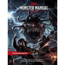 Monster Manual: A Dungeons & Dragons Core Rulebook by Wizards of the Coast, 9780786965618
