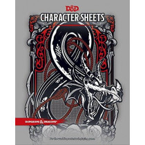 D&D Character Sheets by Wizards RPG Team, 9780786966189