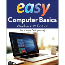 Easy Computer Basics, Windows 10 Edition by Michael R. Miller, 9780789754523