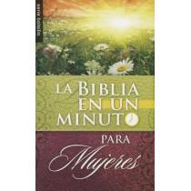 Biblia en un Minuto Para Mujeres by Editorial Unilit, 9780789919540