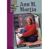 Ann M. Martin by Marylou Morano Kjelle, 9780791087947