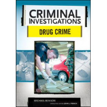 Drug Crime by Michael Benson, 9780791094075