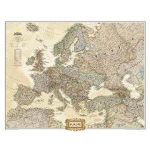 Europe Executive, Tubed: Wall Maps Continents by National Geographic Maps, 9780792289838