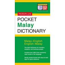 Pocket Malay Dictionary: Malay-English English-Malay by Zuraidah Omar, 9780794600570