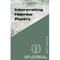 Interpreting Hebrew Poetry by David L. Petersen, 9780800626259