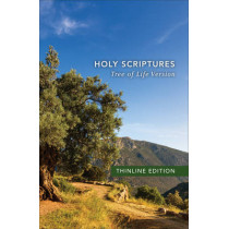 TLV Thinline Bible, Holy Scriptures, paperback by Messianic Jewish Family Bible Society, 9780801019029