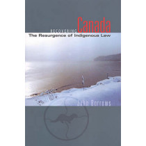 Recovering Canada: The Resurgence of Indigenous Law by John Borrows, 9780802085016