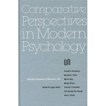 Nebraska Symposium on Motivation, 1987, Volume 35: Comparative Perspectives in Modern Psychology by Nebraska Symposium, 9780803228801