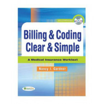 Billing & Coding Clear & Simple by Gardner, 9780803617186