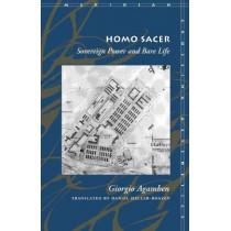 Homo Sacer: Sovereign Power and Bare Life by Giorgio Agamben, 9780804732185